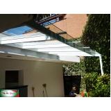 cobertura de alumino e vidro Campo Belo