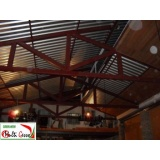 cobertura de telha galvanizada Itaim Bibi