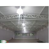 coberturas com telha termo acústica Campo Belo
