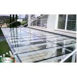 coberturas de alumino e vidro Jardim Paulistano