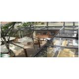 coberturas de ferro e vidro Jardim Paulistano
