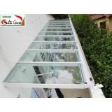 coberturas de vidro Morumbi