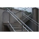 corrimão de ferro para escada Jardim Paulistano