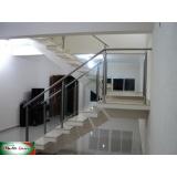 empresa de corrimão de inox para escada Campo Belo