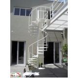escadas metálicas preço Campo Belo