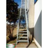 escadas metálicas Jardim Paulistano