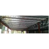 estrutura metálica para coberturas preço Jardim Paulistano