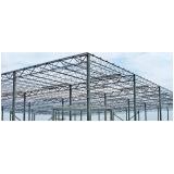 estrutura metálica para construção Moema