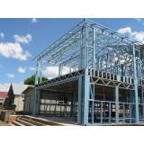 estrutura metálica para prédio Itaim Bibi