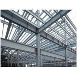 estrutura metálica para reforço estrutural Moema
