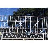 estrutura metálica para fachadas