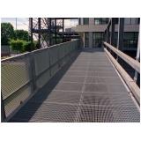 estrutura metálica para passarelas
