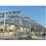 estrutura metálica para reforço estrutural