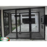 fachada com telas preço Morumbi