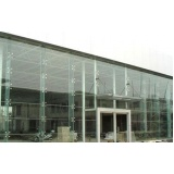 pele de vidro para fachada