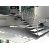 guarda corpo de inox para escada Zona oeste