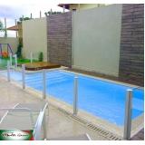 guarda corpo de inox para piscina Jardim Namba