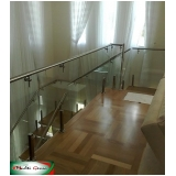 guarda corpo inox escada