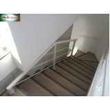 guarda corpo para escada Jardim Paulistano