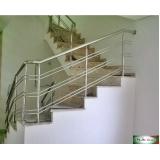 onde encontro guarda corpo de inox para escada Perdizes