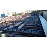 orçamento de estrutura metálica para coberturas Jardim Paulistano