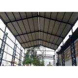 orçamento de estrutura metálica para galpão Campo Belo
