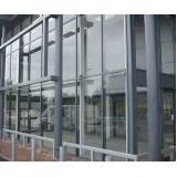 orçamento de fachada de alumínio de vidro Itaim Bibi