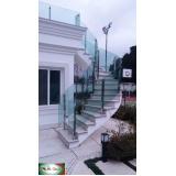 orçamento de guarda corpo vidro curvo Campo Belo