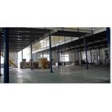 orçamento de mezanino metálico para fabricas Moema