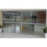 porta de alumínio de correr preço Campo Belo