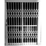 porta pantográfica de alumínio preço Moema