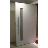 porta pivotante de alumínio preço Morumbi
