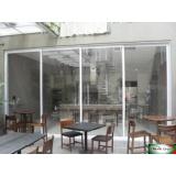 portas de alumínio folha dupla Jardim Paulistano