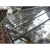 quanto custa cobertura de ferro e vidro Itaim Bibi