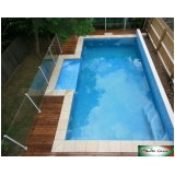 quanto custa guarda corpo de inox para piscina Freguesia do Ó