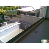 quanto custa guarda corpo de vidro com easy glass Granja Viana