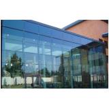 quanto custa pele de vidro para fachada Granja Viana